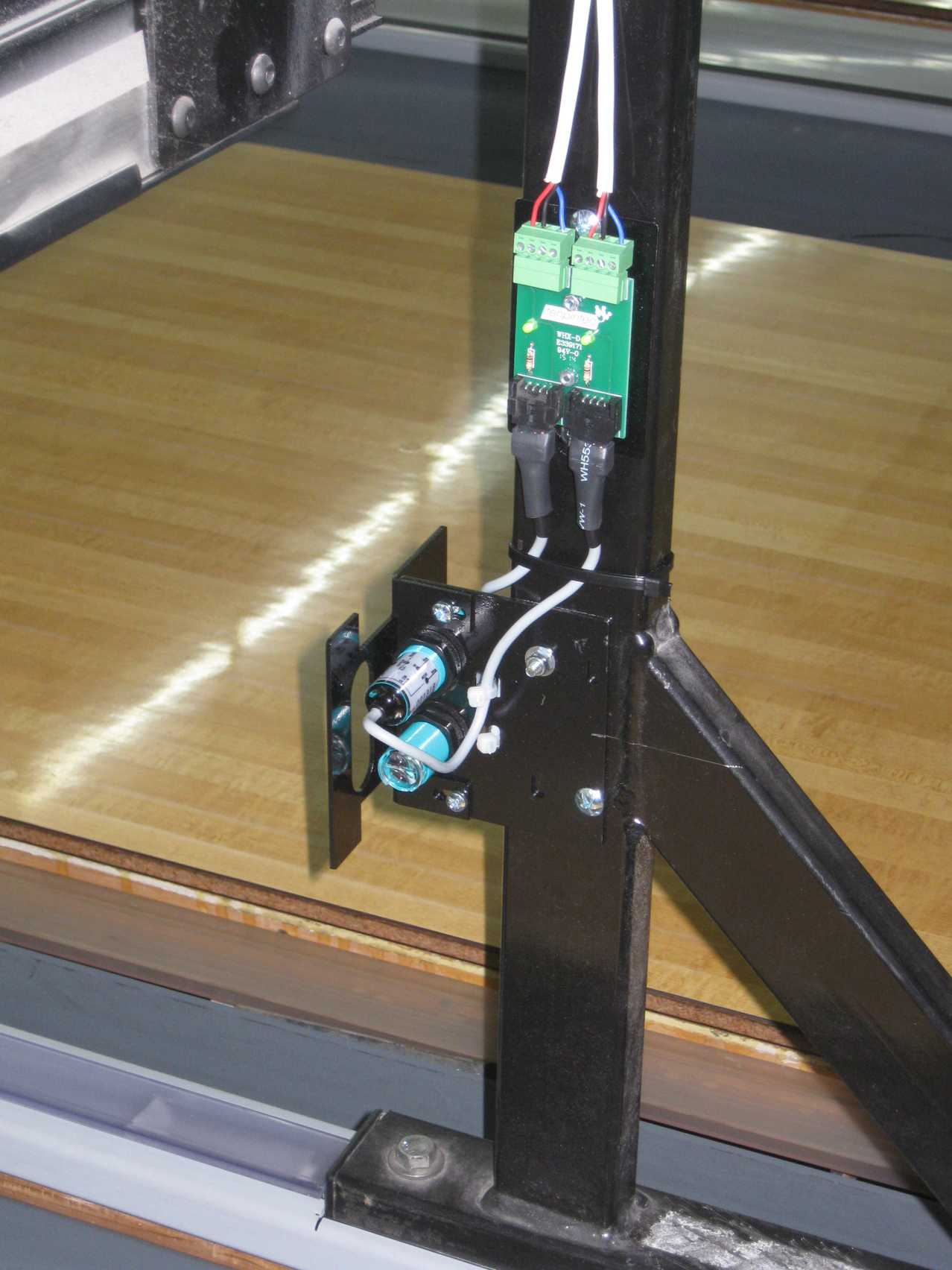 Tenpintec Machineminder By Cybernetic Solutions Brunswick A2 Electrical Wiring Ir And Junction Board Machine Minder